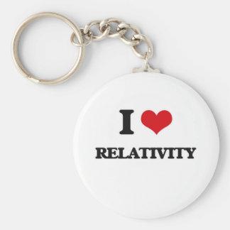 I Liebe-Relativität Schlüsselanhänger