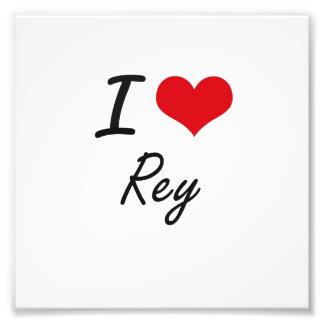 I Liebe Rey Kunst Fotos