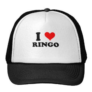I Liebe Ringo Baseballkappe
