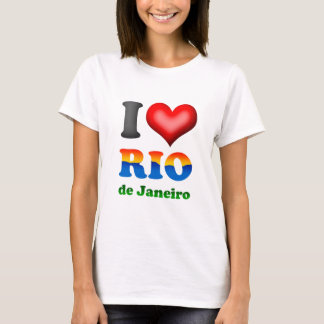 I Liebe Rio de Janeiro, Brasilien die wunderbare T-Shirt