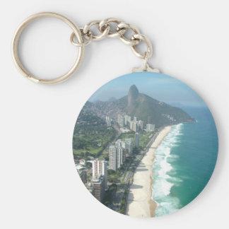 I Liebe Rio de Janeiro Standard Runder Schlüsselanhänger