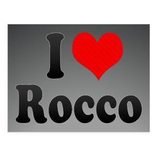 I Liebe Rocco Postkarte