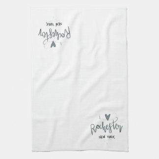 I Liebe-Rochester-Küchen-Tuch Küchentuch