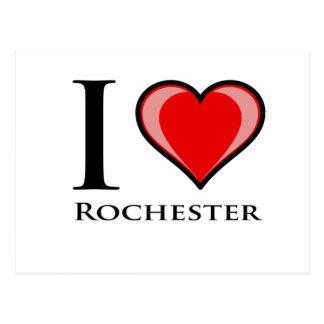 I Liebe Rochester Postkarte