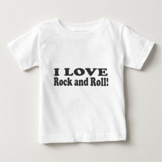 I Liebe-Rock-and-Roll! Baby T-shirt