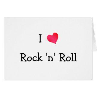 I Liebe-Rock-and-Roll Karte