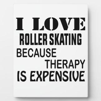 I Liebe-Rollen-Skaten, weil Therapie teuer ist Fotoplatte