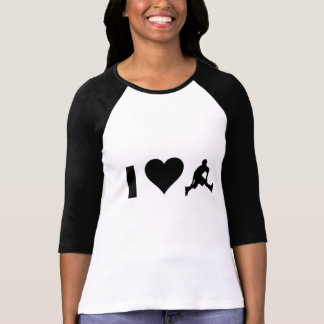 I Liebe Rollerblading T-Shirt