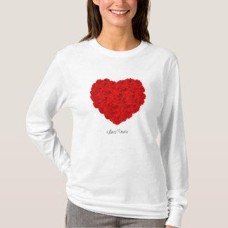 I Liebe-Rosen T-Shirt