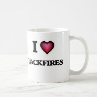 I Liebe-Rückschläge Kaffeetasse