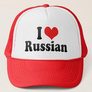 I Liebe-Russe Truckerkappe