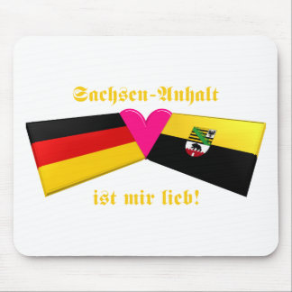 I Liebe-Sachsen-Anhalt ist-MIR lieb Mousepads