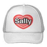 I Liebe Sally. Liebe I Sie Sally. Herz Kappen