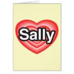 I Liebe Sally. Liebe I Sie Sally. Herz Karten