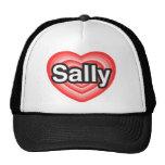 I Liebe Sally. Liebe I Sie Sally. Herz Netzkappe