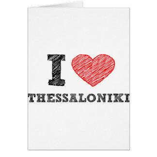 I Liebe Saloniki Karte