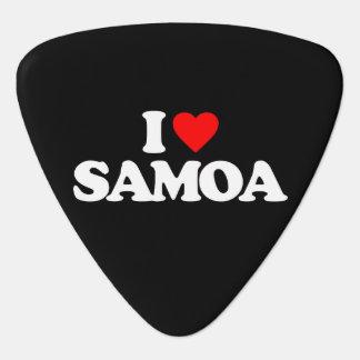 I LIEBE SAMOA-INSELN PLEKTRON