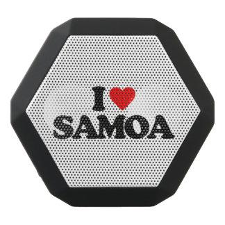 I LIEBE SAMOA-INSELN SCHWARZE BLUETOOTH LAUTSPRECHER