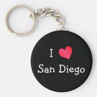 I Liebe San Diego Schlüsselbänder