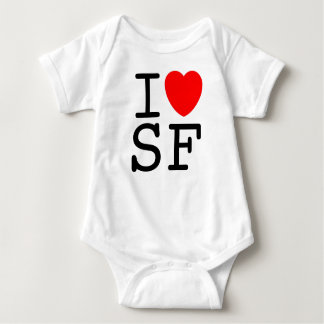 I Liebe San Francisco Baby Strampler