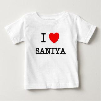 I Liebe Saniya Baby T-shirt