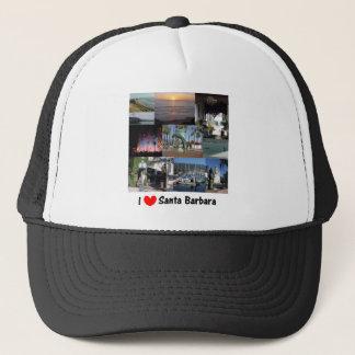 I Liebe Santa Barbara Truckerkappe