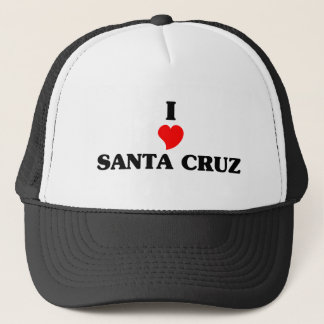 I Liebe Santa Cruz Truckerkappe