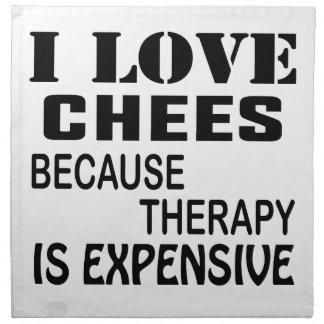 I Liebe-Schach, weil Therapie teuer ist Serviette