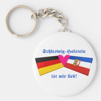 I Liebe-Schleswig-Holstein ist-MIR lieb Standard Runder Schlüsselanhänger
