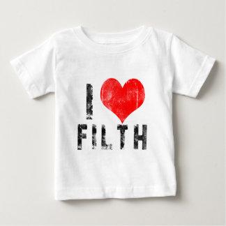 I Liebe-Schmutz Baby T-shirt