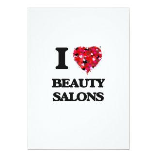 I Liebe-Schönheits-Salons 12,7 X 17,8 Cm Einladungskarte