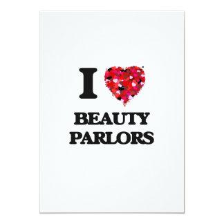 I Liebe-Schönheits-Wohnzimmer 12,7 X 17,8 Cm Einladungskarte
