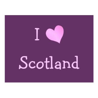 I Liebe Schottland Postkarte