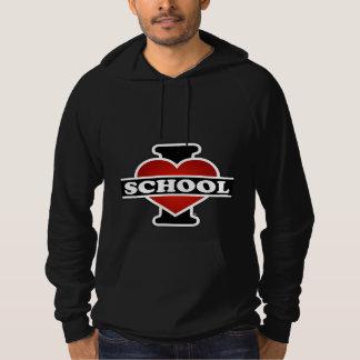 I Liebe-Schule Hoodie