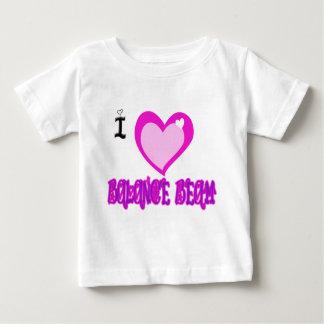 I LIEBE Schwebebalken Baby T-shirt
