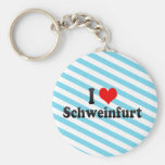 I Liebe Schweinfurt, Deutschland Schlüsselbänder
