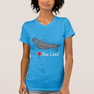 I Liebe-Seelöwen! T-Shirt