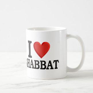 I Liebe Shabbat Kaffeetasse