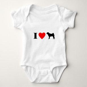 I Liebe Shar Peis Baby-Strampler Baby Strampler