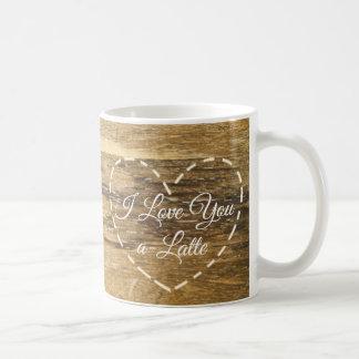 I Liebe Sie A-Latte lustige süße Kaffee-Tasse Kaffeetasse