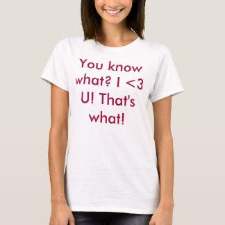 I Liebe Sie. Das ist, was T-Shirt