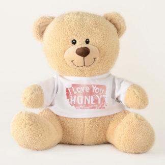 I Liebe Sie Honig (zum Mond u. zur Rückseite) Teddy