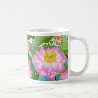 I Liebe Sie Lotos-Tasse Tasse