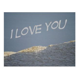 I Liebe Sie Postkarte