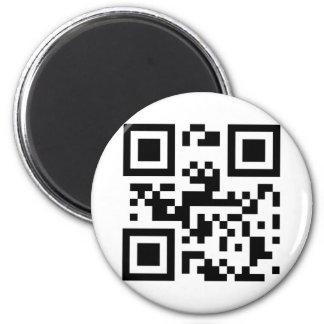 I Liebe Sie - QR Code Runder Magnet 5,1 Cm
