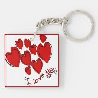 I Liebe Sie Schlüsselanhänger