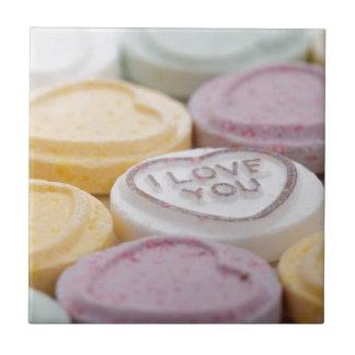 I Liebe Sie Süßigkeiten Keramikfliesen