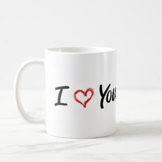 I Liebe Sie Tasse