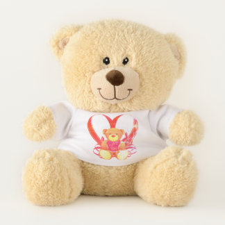 I Liebe Sie Teddy-Herz Teddybär