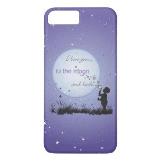 I Liebe Sie zu den Mond-und iPhone 8 Plus/7 Plus Hülle